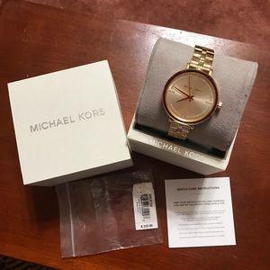 Micheal Kors brand new Gold watch